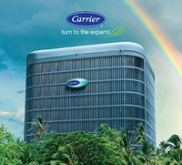 Carrier brand heating and cooling products